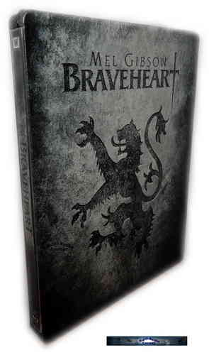 Braveheart - 2-Disc Edition limited Steelbook [Blu-Ray] (Deutscher Ton)