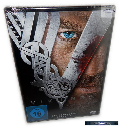 Vikings - Die komplette Staffel/Season 1 [DVD]