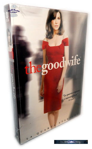 The Good Wife - Die komplette Staffel/Season 4 [DVD]