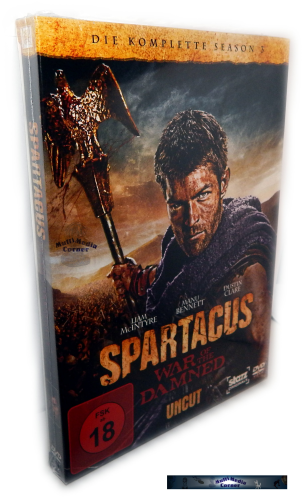 Spartacus War of the Damned - Die komplette Staffel/Season 3 [DVD] uncut
