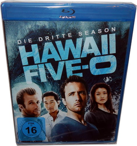Hawaii Five-0 (5-0) - Die komplette Staffel/Season 3 [Blu-Ray]