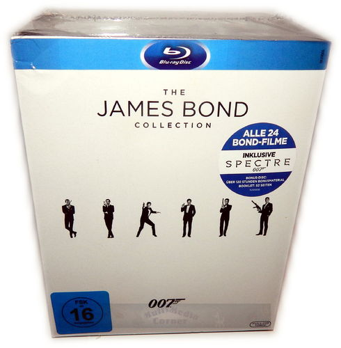 James Bond 007 Collection (2016)[Blu-ray]  25-Disc inkl. Spectre