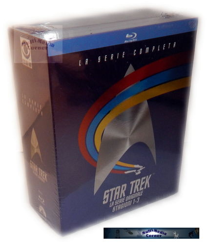 Star Trek Enterprise Komplettbox - Die komplette Serie [Blu-Ray] Staffel/Season 1,2+3