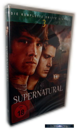 Supernatural - Die komplette Staffel/Season 3 [DVD]