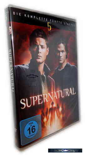 Supernatural - Die komplette Staffel/Season 5 [DVD]
