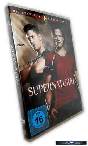 Supernatural - Die komplette Staffel/Season 6 [DVD]