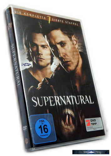 Supernatural - Die komplette Staffel/Season 7 [DVD]