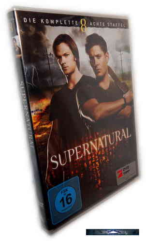 Supernatural - Die komplette Staffel/Season 8 [DVD]