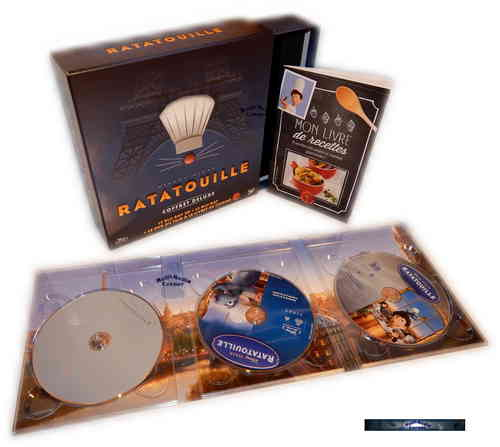 Ratatouille 3D - limited Edition inkl. Digi-Pak [Blu-Ray] Walt Disney Pixar