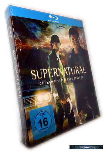 Supernatural - Die komplette Staffel/Season 1 [Blu-Ray]