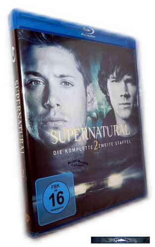 Supernatural - Die komplette Staffel/Season 2 [Blu-Ray]