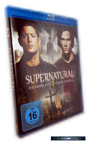 Supernatural - Die komplette Staffel/Season 4 [Blu-Ray]