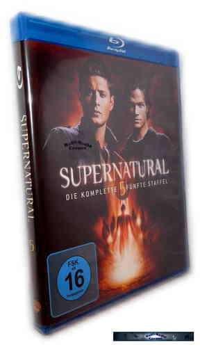 Supernatural - Die komplette Staffel/Season 5 [Blu-Ray]