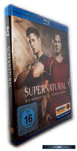Supernatural - Die komplette Staffel/Season 6 [Blu-Ray]