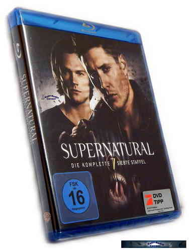 Supernatural - Die komplette Staffel/Season 7 [Blu-Ray]