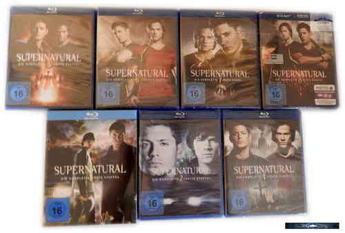 Supernatural - Die komplette Staffel/Season 1,2,4,5,6,7 [Blu-Ray]
