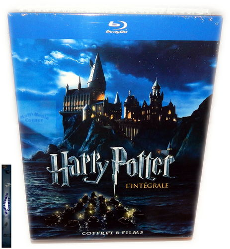Harry Potter Komplettbox Edition 1-7.2 [Blu-Ray] Jahre 1-7