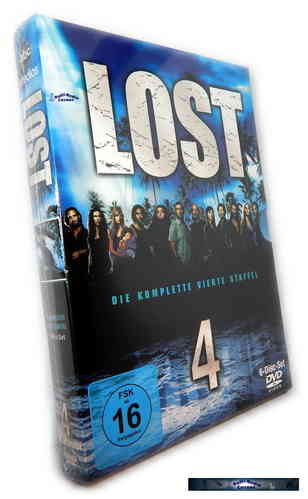 Lost - Die komplette Staffel/Season 4 [DVD]