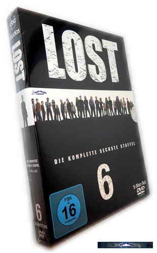 Lost - Die komplette Staffel/Season 6 [DVD]