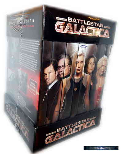 Battlestar Galactica  Komplettbox - Season 1-4 [DVD] 25-Disc