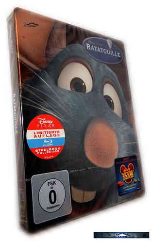 Ratatouille - limited Steelbook [Blu-Ray] Walt Disney / Pixar