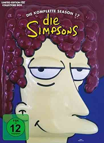 Die Simpsons - Die komplette Staffel/Season 17 [DVD] limited Tiefziehbox