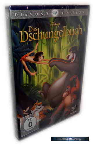 Das Dschungelbuch - Diamond Edition [DVD] Walt Disney