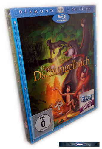 Das Dschungelbuch - Diamond Edition [Blu-Ray] Walt Disney