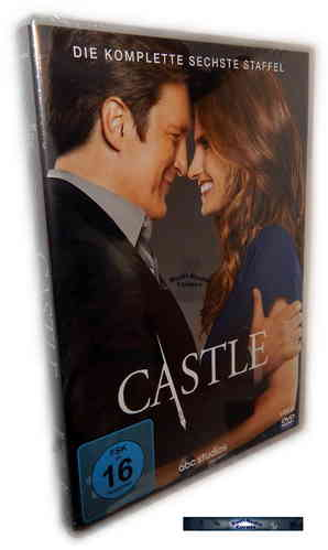 Castle - Die komplette Staffel/Season 6 [DVD]