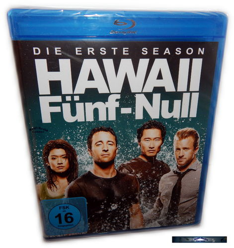 Hawaii Five-0 (5-0) - Die komplette Staffel/Season 1 [Blu-Ray]