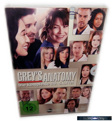 Grey´s Anatomy - Die komplette Staffel/Season 10 [DVD]