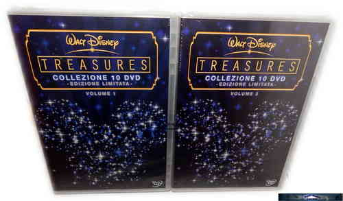 Walt Disney Kostbarkeiten - Collection Volume 1+2 [DVD] 20-Disc, limited