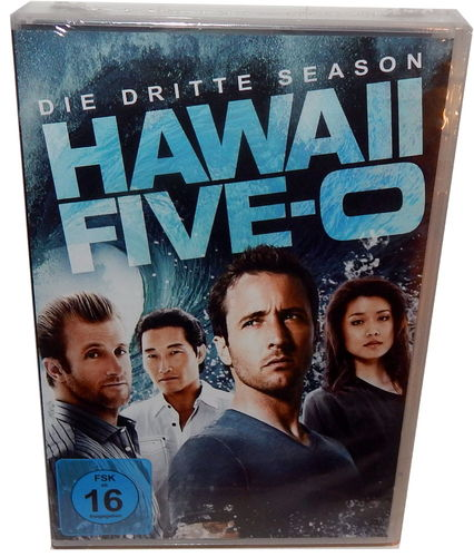 Hawaii Five-0 (5-0) - Die komplette Staffel/Season 3 [DVD]