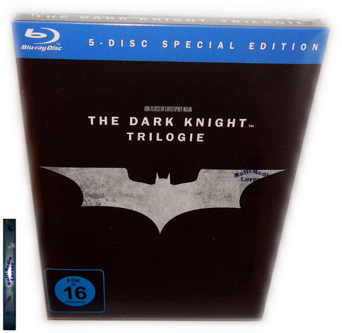 The Dark Knight Trilogie/Trilogy [Blu-Ray] 5-Disc Special Edition