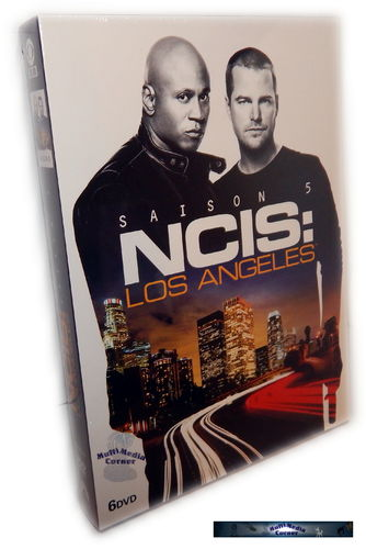 NCIS Los Angeles (L.A.) - Die komplette Staffel/Season 5 [DVD]