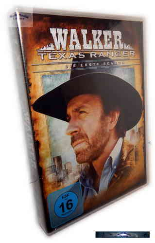 Walker Texas Ranger - Die komplette Staffel/Season 1 [DVD]