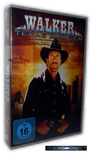 Walker Texas Ranger - Die komplette Staffel/Season 2 [DVD]