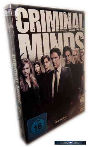 Criminal Minds - Die komplette Staffel/Season 9 [DVD]