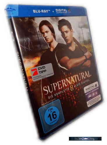 Supernatural - Die komplette Staffel/Season 8 [Blu-Ray]