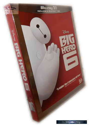 Baymax 3D (+2D) - Riesiges Robowabohu (Big Hero 6) [Blu-ray] Walt Disney