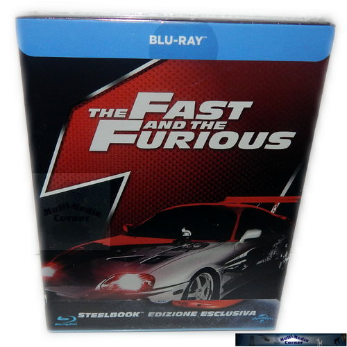 The Fast and (&) the Furious - limited Steelbook [Blu-Ray] (Deutscher Ton)