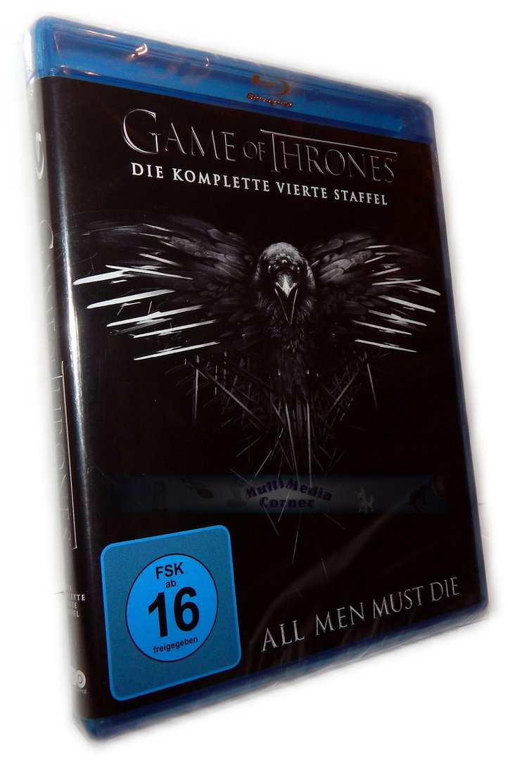 Game Of Thrones Staffel 4 Blue Ray