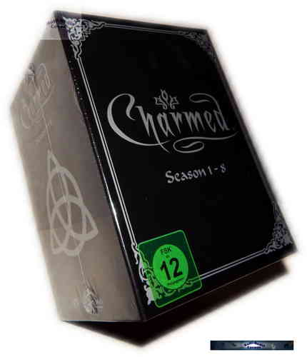 Charmed Komplettbox - Staffel/Season 1,2,3,4,5,6,7,8 [DVD] 48-Disc Box-Set