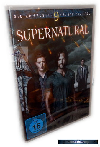 Supernatural - Die komplette Staffel/Season 9 [DVD] 6-Disc