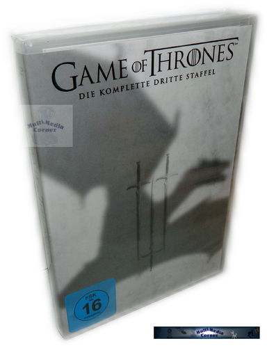 Game of Thrones - Die komplette Staffel/Season 3 [DVD]
