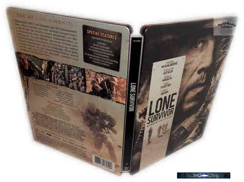 Lone Survivor - limited Steelbook Edition [Blu-Ray]