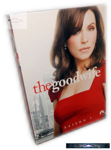 The Good Wife - Die komplette Staffel/Season 5 [DVD]