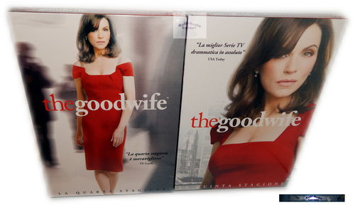 The Good Wife - Die komplette Staffel/Season 4+5 [DVD]