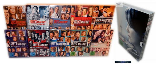 Grey´s (Greys) Anatomy - Die komplette Staffel/Season 1,2,3,4,5,6,7,8,9,10,11 [DVD] 65-Disc