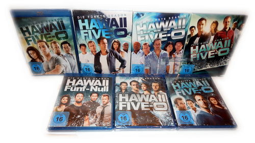 Hawaii Five 0 (5-O) - Die komplette Staffel/Season 1,2,3,4,5,6,7 (1-7) [Blu-Ray]